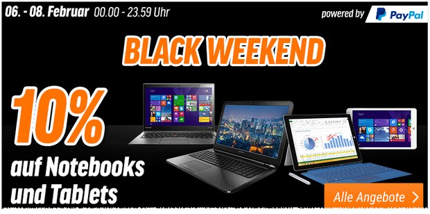Notebooksbilliger Black Weekend