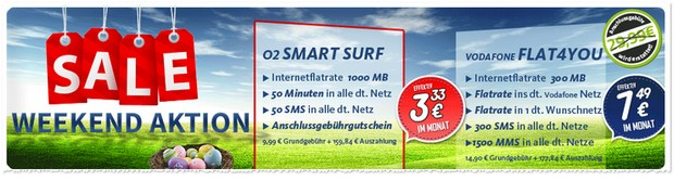 o2 Smart Surf Aktion bei handy2day