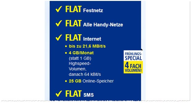 1&1 All-Net-Flat Plus