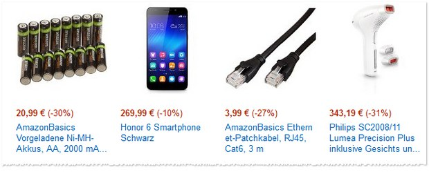 Honor 6 als Amazon Blitzangebot für 269,99 €