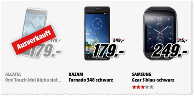 Media Markt Rausräum-Aktion am 21.4.2015