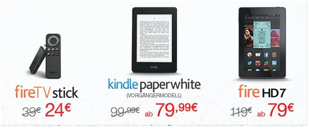 Fire HD Angebot zum Amazon Prime Day