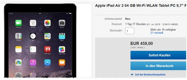 ipad-air-2-64gb-459-euro