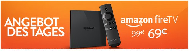 Amazon Fire-TV am 17.8.2015 für 69 €