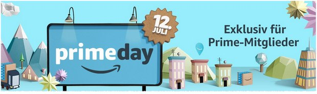 Amazon Prime Day am 12.7.2016