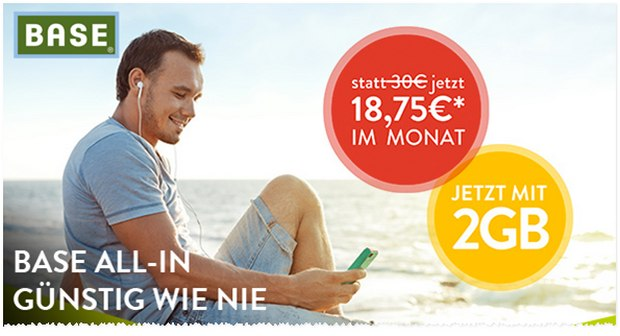 BASE Weekend-Deal: So günstig wie nie!
