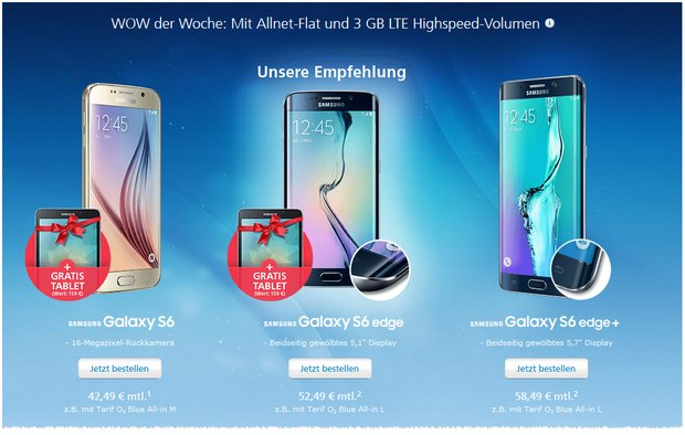 samsung galaxy s6 preis ohne vertrag angebot itunes. Black Bedroom Furniture Sets. Home Design Ideas