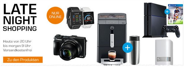 Saturn Late Night Shopping am 23.9.2015 mit Garmin vivóactive