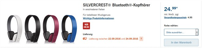 silvercrest bluetooth kopfh rer als lidl angebot ab. Black Bedroom Furniture Sets. Home Design Ideas