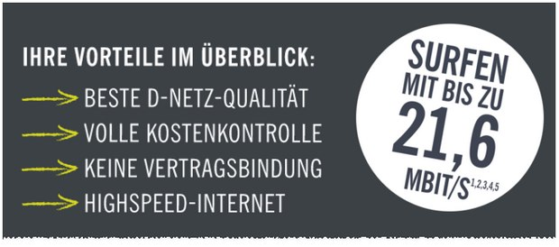 Welches Netz hat LIDL CONNECT?