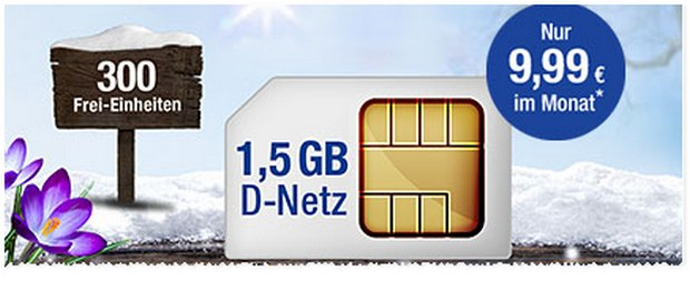 GMX All-Net 300 Plus für 9,99 €