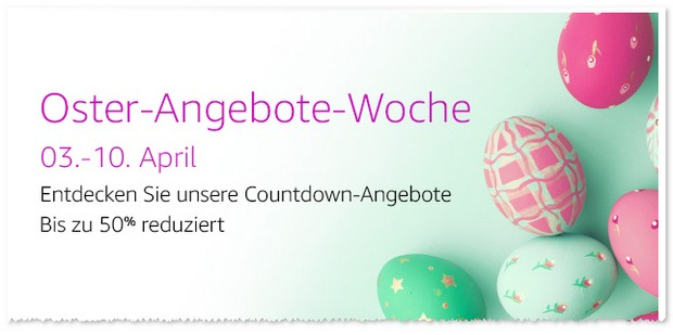 Amazon Oster Angebote Woche ab 3.4.2017