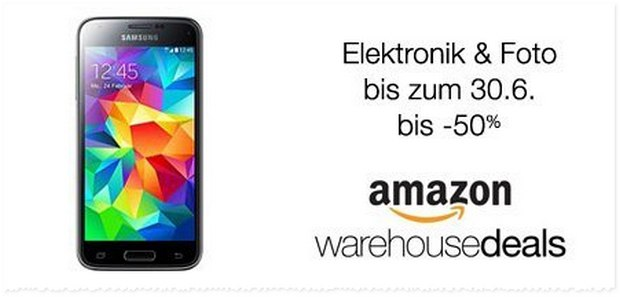 Amazon Warehouse Deals Rabatt-Aktion: Reduzierungen bis 30.6.2016