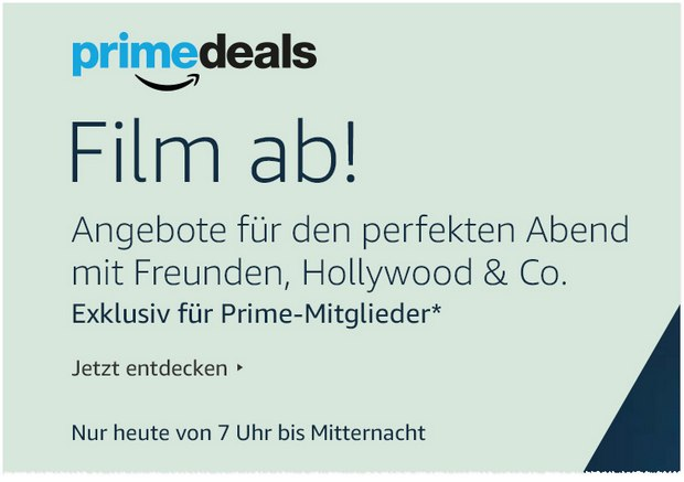Amazon Prime-Deals am 21.4.2016