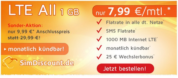 SimDiscount LTE All