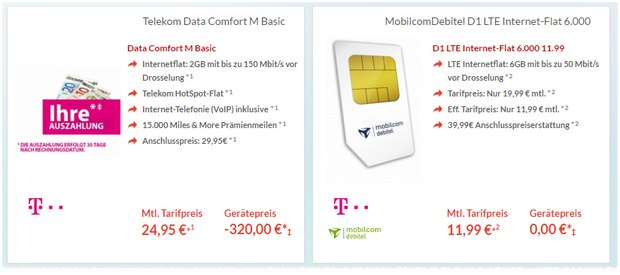 lte d1 telekom daten flat mobilcom 10gb statt 6gb. Black Bedroom Furniture Sets. Home Design Ideas