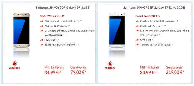 Vodafone Smart Young Xl Samsung Galaxy S7