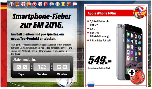MEDIA MARKT IPHONE 6 PLUS VERTRAG