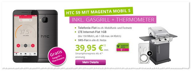 Magenta Mobil S (md) + HTC One S9