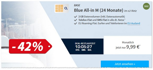 BASE Blue All-in M als SSV Deal