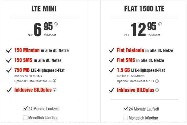 BILD connect LTE Mini