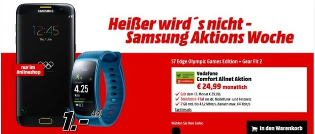 Vodafone Comfort Allnet + Samsung Galaxy S7 edge Olympic Games Edition