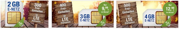 GMX LTE-Netz-Tarif All-Net & Surf