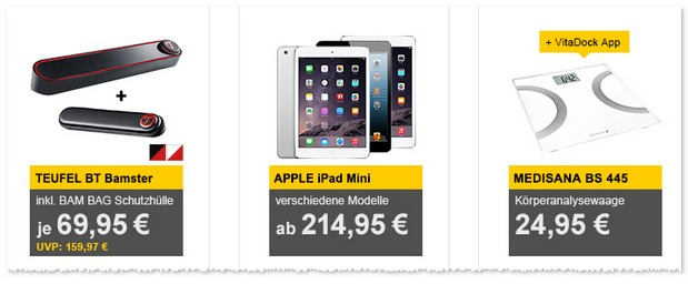 iPad mini 1 (WiFi, Cellular, 16GB) im Angebot