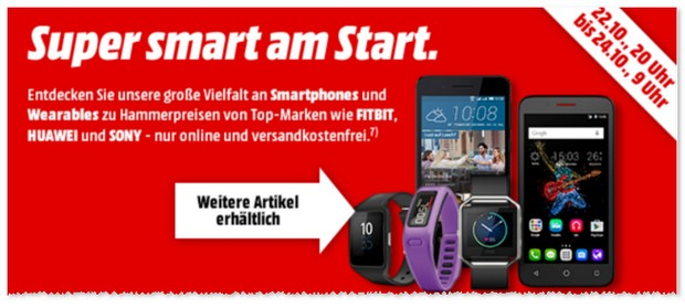 Media-Markt-Aktion »Super Smart am Start«