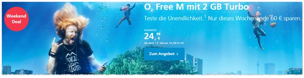 o2 Weekend Deal im November 2016