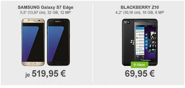 BlackBerry Z10 B-Ware-Deal