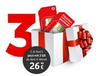 Vodafone Red & Young 3 Monate gratis