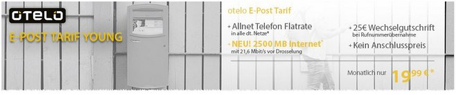 otelo E-Post Young Handyvertrag