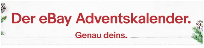 eBay Adventskalender 2016