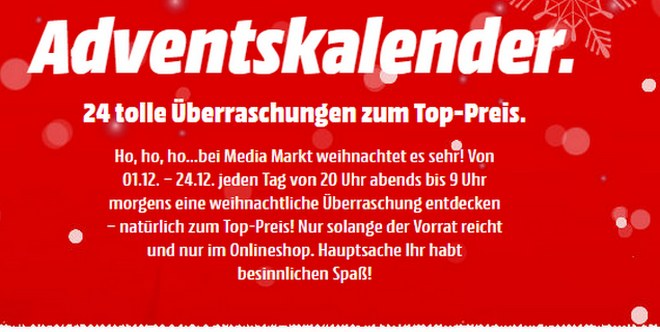 Media Markt Adventskalender 2016