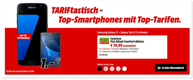Media Markt TARIFtastisch-Deal ab 13.4.2017