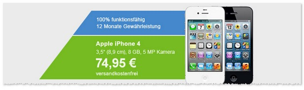 iPhone 4 B-Ware-Deal
