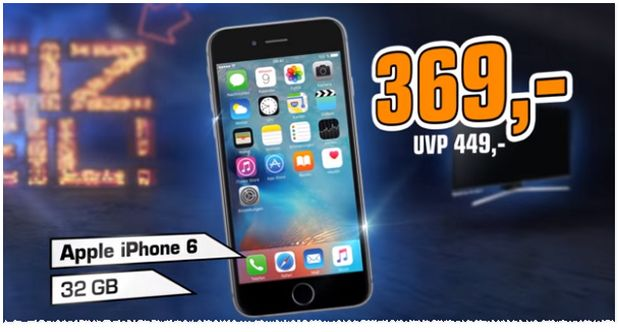 Saturn Iphone  Angebot