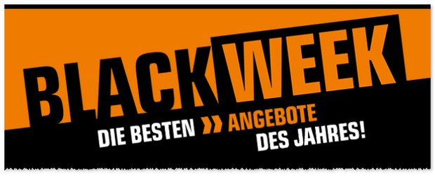 Saturn Werbung zur Black Week Aktion