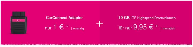 Telekom Car Connect Aktion: Adapter für 1 € (statt 49,95 € zum Datenvertrag)