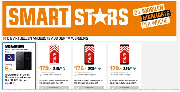 Saturn Smart Stars Werbung ab 11.7.2018