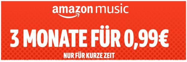 Amazon Music Unlimited günstiger testen