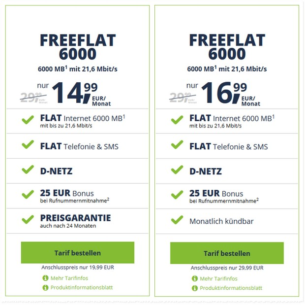 freenetmobile freeFLAT 6000