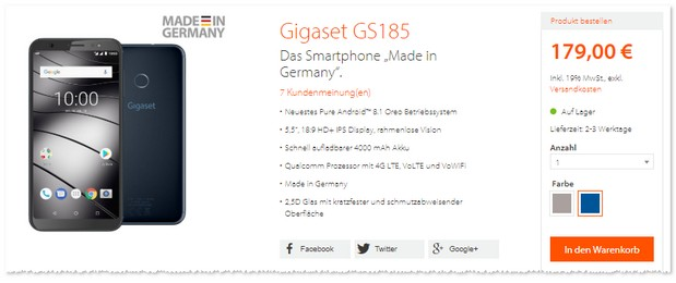 Gigaset GS185 »Made in Germany«