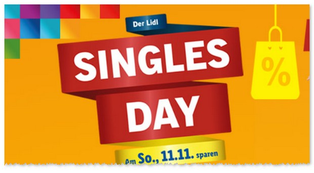 LIDL Singles Day 2018