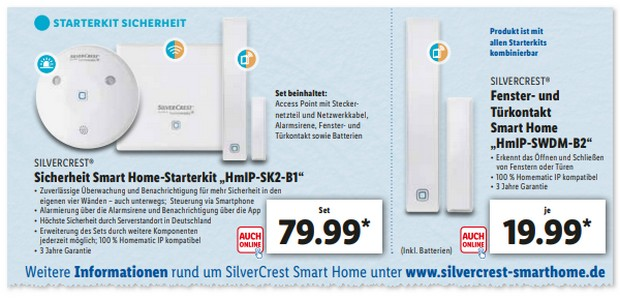 Silvercrest Smart Home Starter-Kit