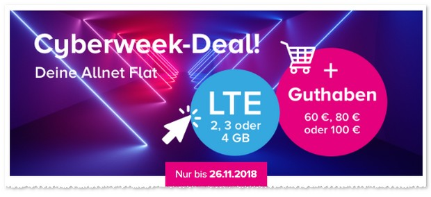 Tarifhaus Cyberweek Deal
