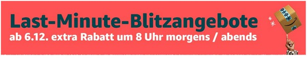 Amazon Last Minute Blitzangebote