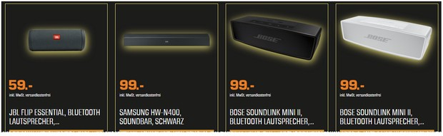 BOSE Soundlink Mini II in der Special Edition für 99 €