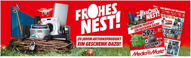 Media Markt Frohes Nest Oster-Aktion